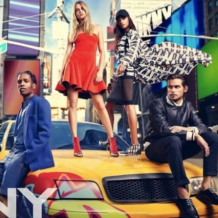 DKNY SS14 campaign – Dylan Rieder, A$AP Rocky, ..