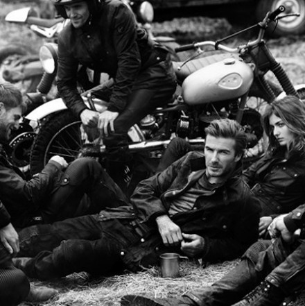 David Beckham for Belstaff SS14 Campaign