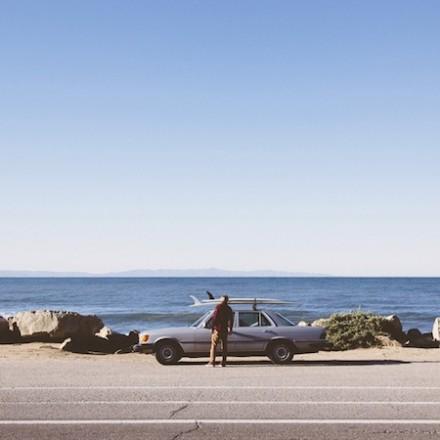 Jack Spade S/S 2014 Campaign with Surfer Mikey De Temple
