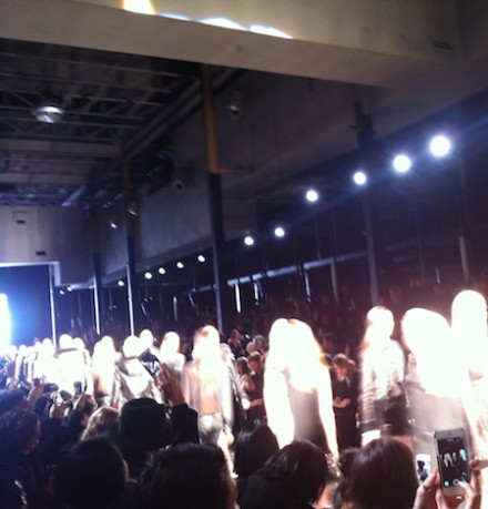 NY Fashion Week FW14 – Diesel Black Gold
