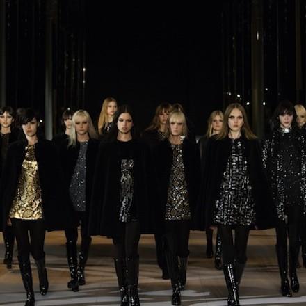 Paris Fashion Week FW14 – Saint Laurent