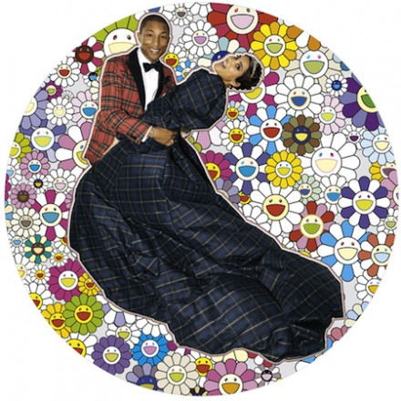 Pharrell Williams' G I R L exhibition at Galerie Perrotin