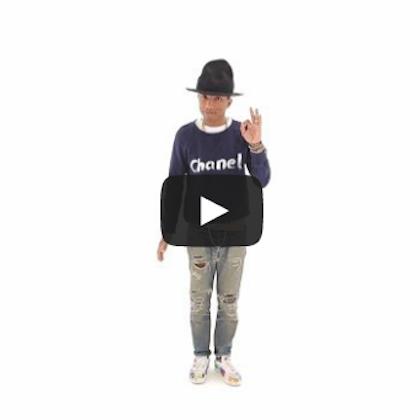 "Pharrell Williams ""Happy"" Japanese Version"