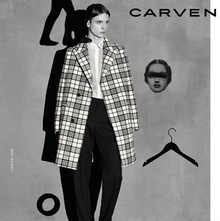 Carven FW14 Campaign