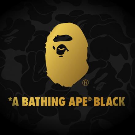 A BATHING APE® BLACK launches