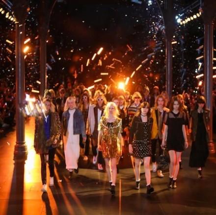 Paris Fashion Week: Men SS16 – Saint Laurent