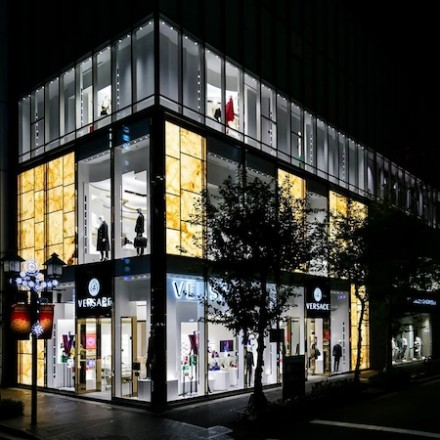 New Versace boutique in Tokyo