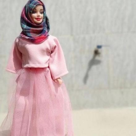 barbie gets a modest muslim makeover
