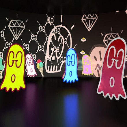 Collaborative art project: Gucci 4 Rooms
