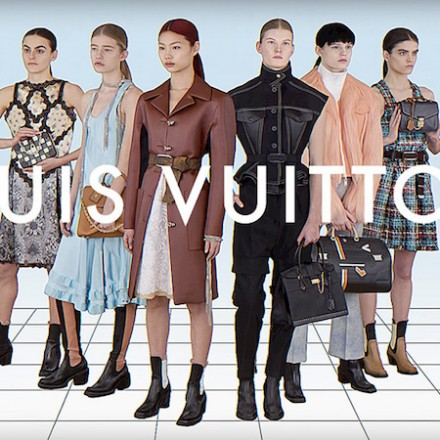 SIX GIRLS from Louis Vuitton FW17