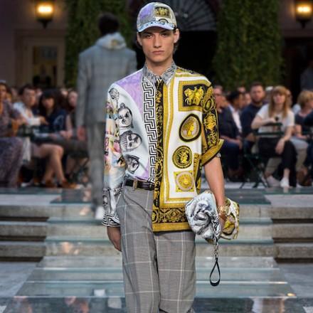 Milan Fashion Week Men's SS18 – VERSACE