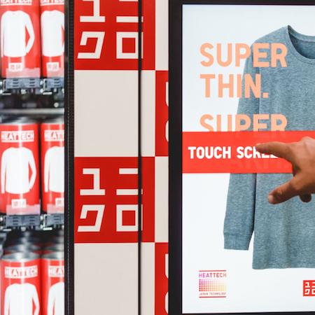 UNIQLO Launches LifeWear Vending Machines