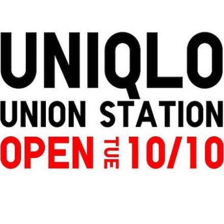 Uniqlo Union Station (D.C.) to Open 10/10