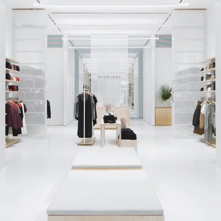 Everlane's First Store opens in Soho